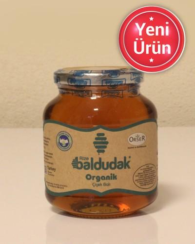 Baldudak Organik Çiçek Balı - 450 Gr
